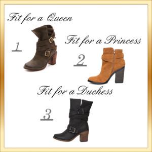 Polyvore boots set