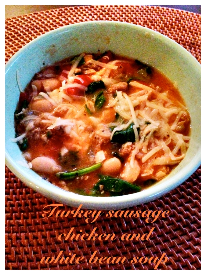 Turkey sausage soup