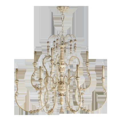 Quorum-Salento-9-Light-Chandelier