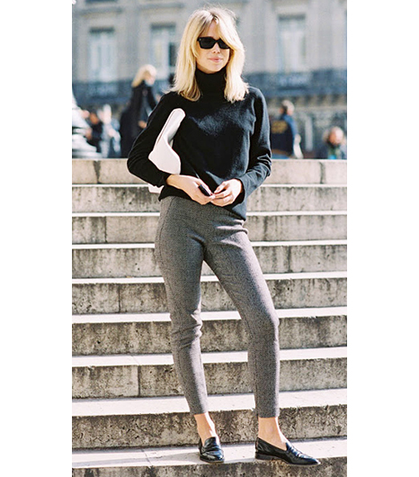 Elin Kling in Stella McCartney pants