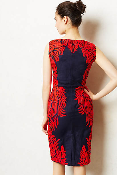 anthropologie spice tree dress