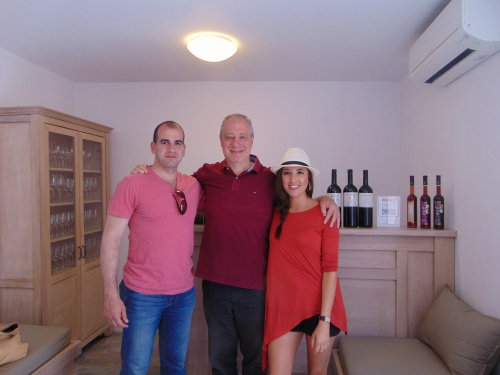 argyros winery, stephanos, the lady olive