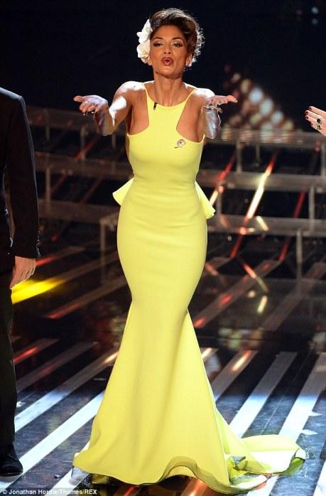 The Lady Olive, yellow for every skin tone, Nicole Scherzinger
