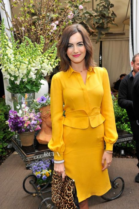 Camilla Belle, The Lady Olive, yellow for olive skin tone