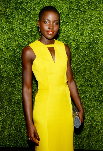 Lupita Nyon'O, The Lady Olive, yellow for every skin tone