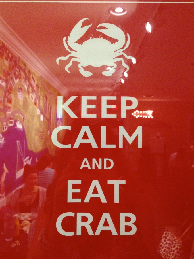 Keep Calm and Eat Crab, The Lady Olive