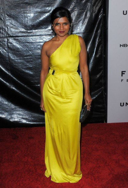 The Lady Olive, Mindy Kaling, yellow for every skin tone