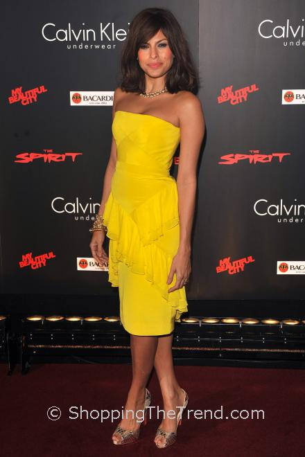 Eva Mendes, The Lady Olive, yellow for every skin tone