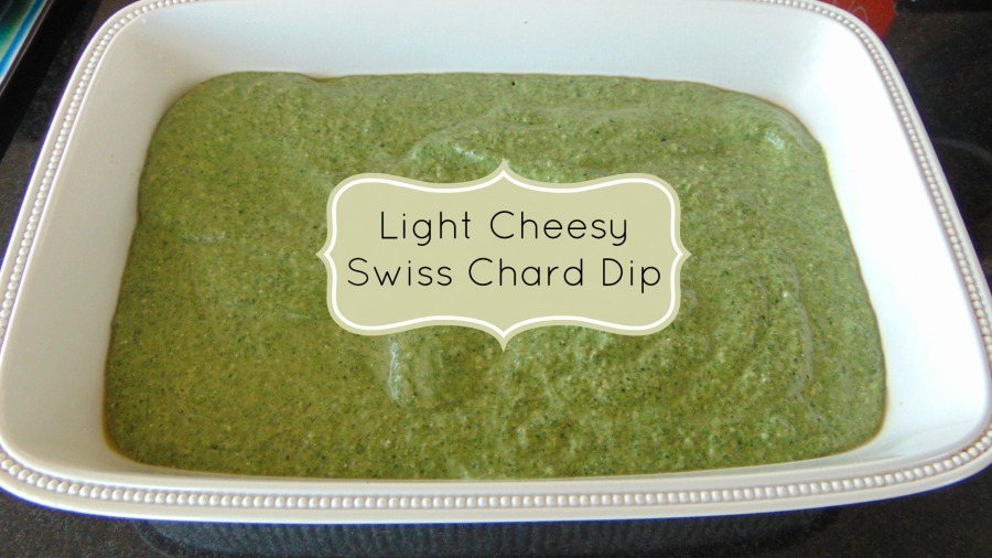 Light and Cheesy Swiss Chard Dip
